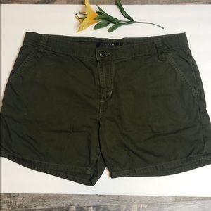 Joes army green jeans shorts size 31